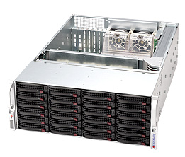 LifeCom Storage 4U 24-bay X9 SC846 E5-v2