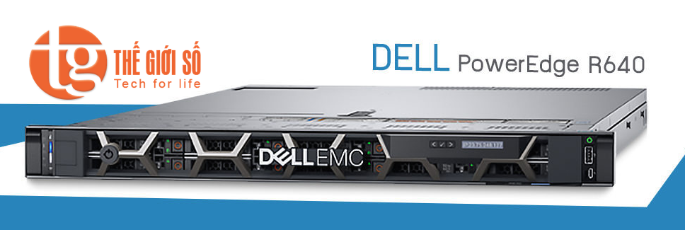 MÁY CHỦ SERVER DELL POWEREDGE EMC R640