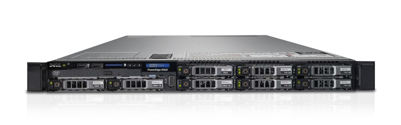 MÁY CHỦ DELL™ POWEREDGE™ R620 E5-2650L V2