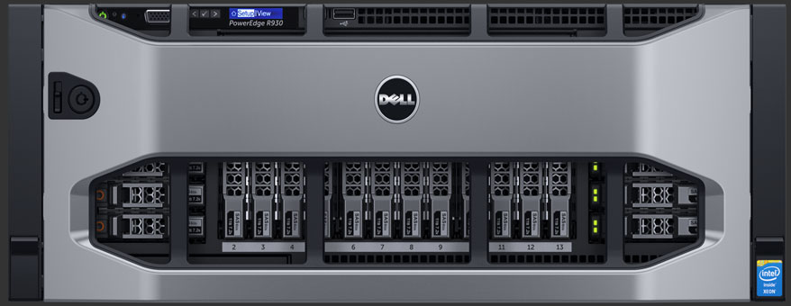 Dell EMC PowerEdge R930 4-socket Rack Server E7- 4809 V3