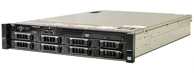 MÁY CHỦ SERVER DELL POWEREDGE R720 - E5-2609V2
