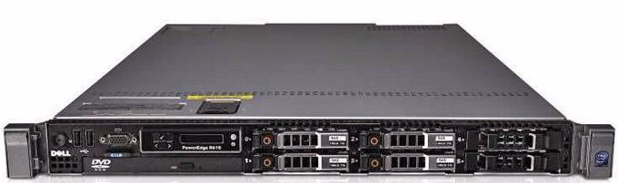 MÁY CHỦ SERVER DELL POWEREDGE R610 six Core E5645 2.4Ghz, 12Mb