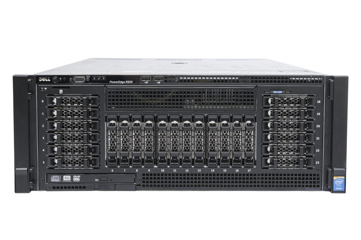 DELL POWEREDGE R920 RACK SERVER E7- 4809 V2