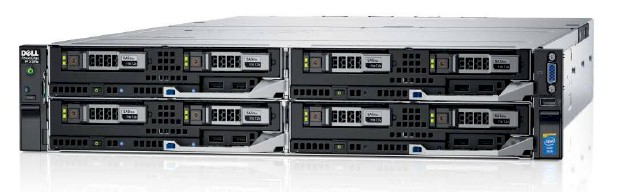 MÁY CHỦ DELL POWEREDGE FX2S 4 NODE - 8 X XEON E5 2683V3