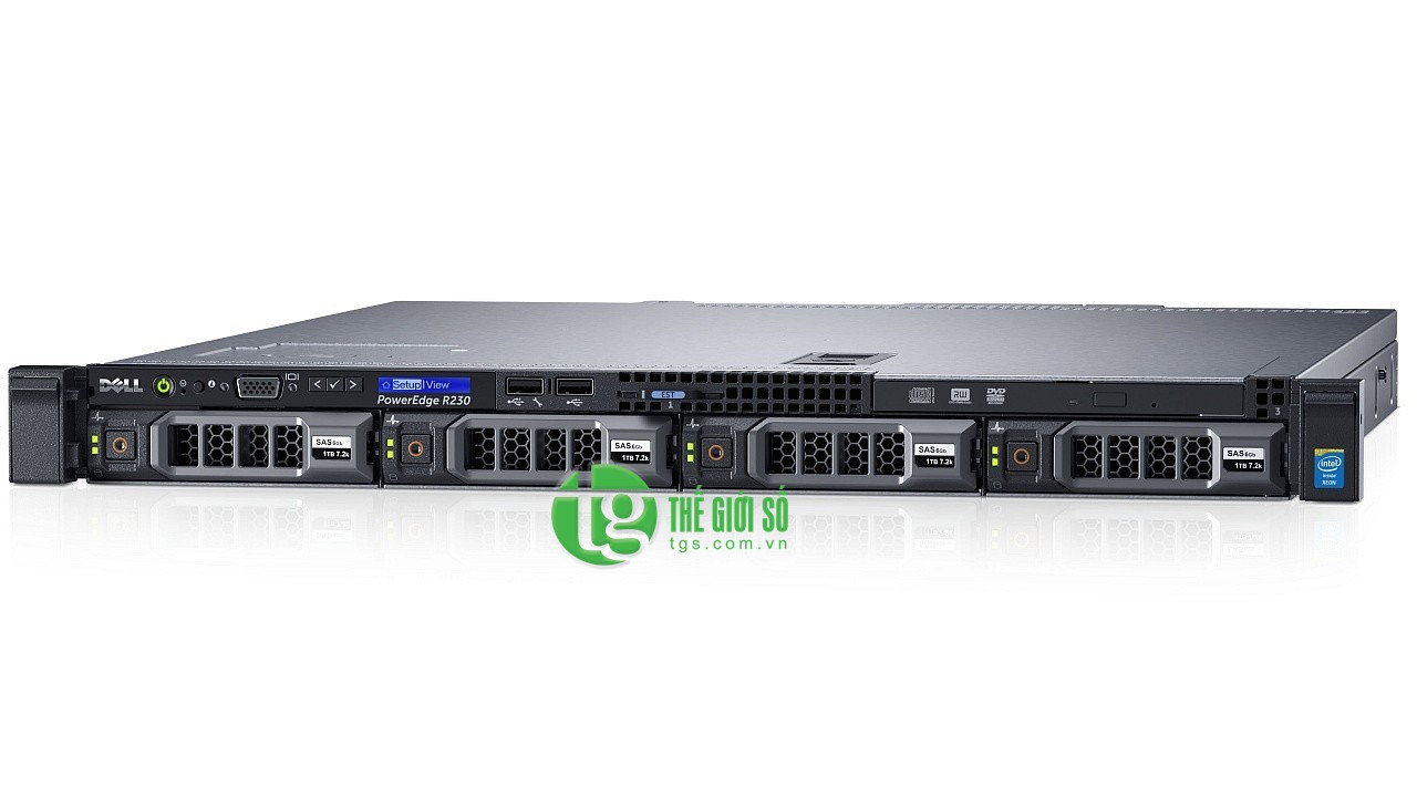MÁY CHỦ DELL POWEREDGE R230 E3-1220 V5 3.0GHZ