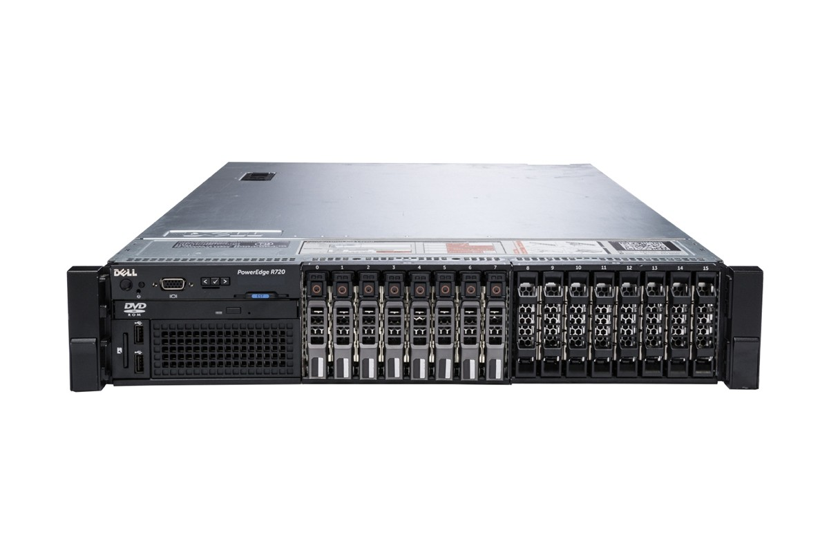 MÁY CHỦ DELL™ POWEREDGE™ R720 E5-2695 V2