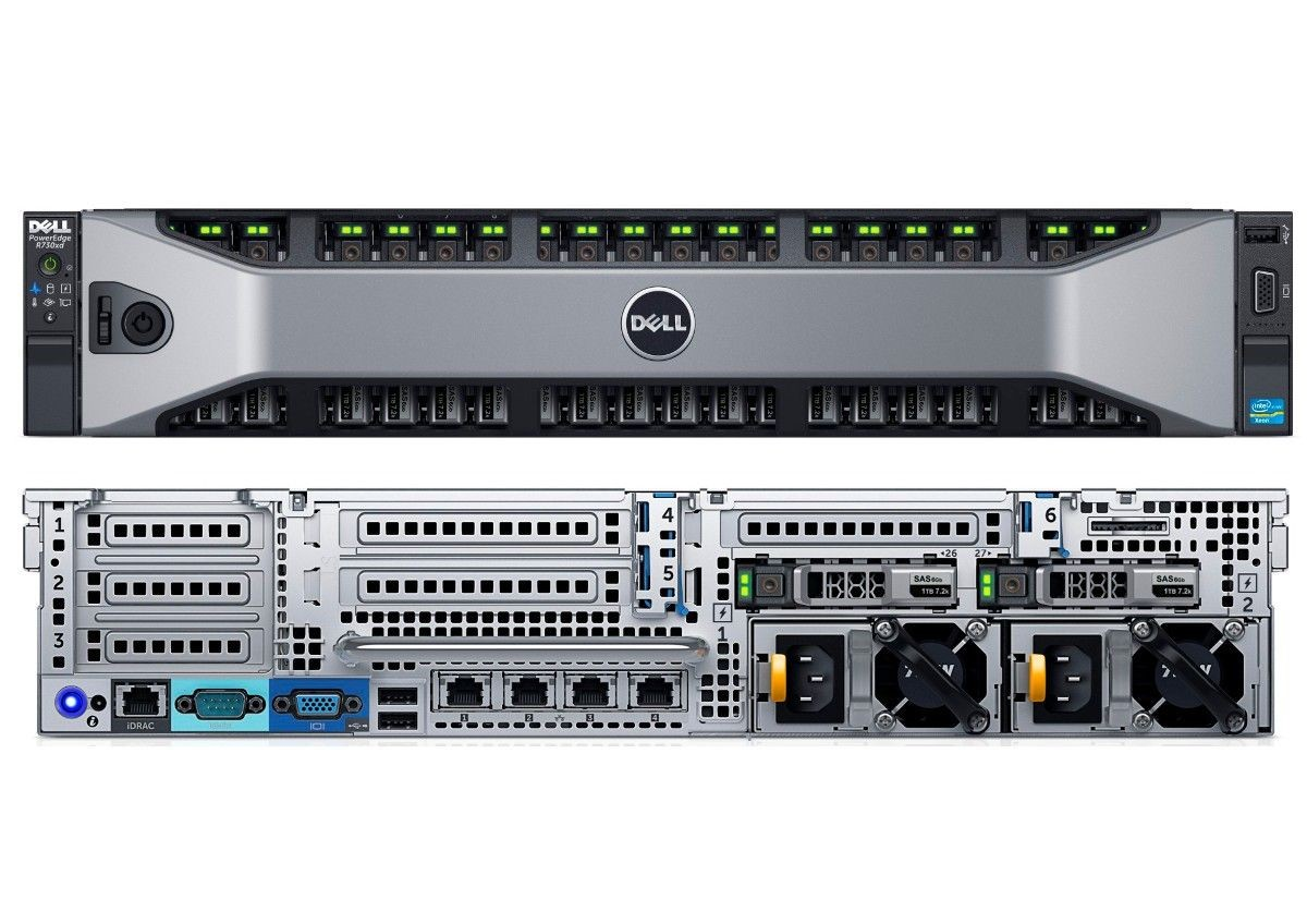 MÁY CHỦ DELL™ POWEREDGE™ R730XD E5-2609 V3