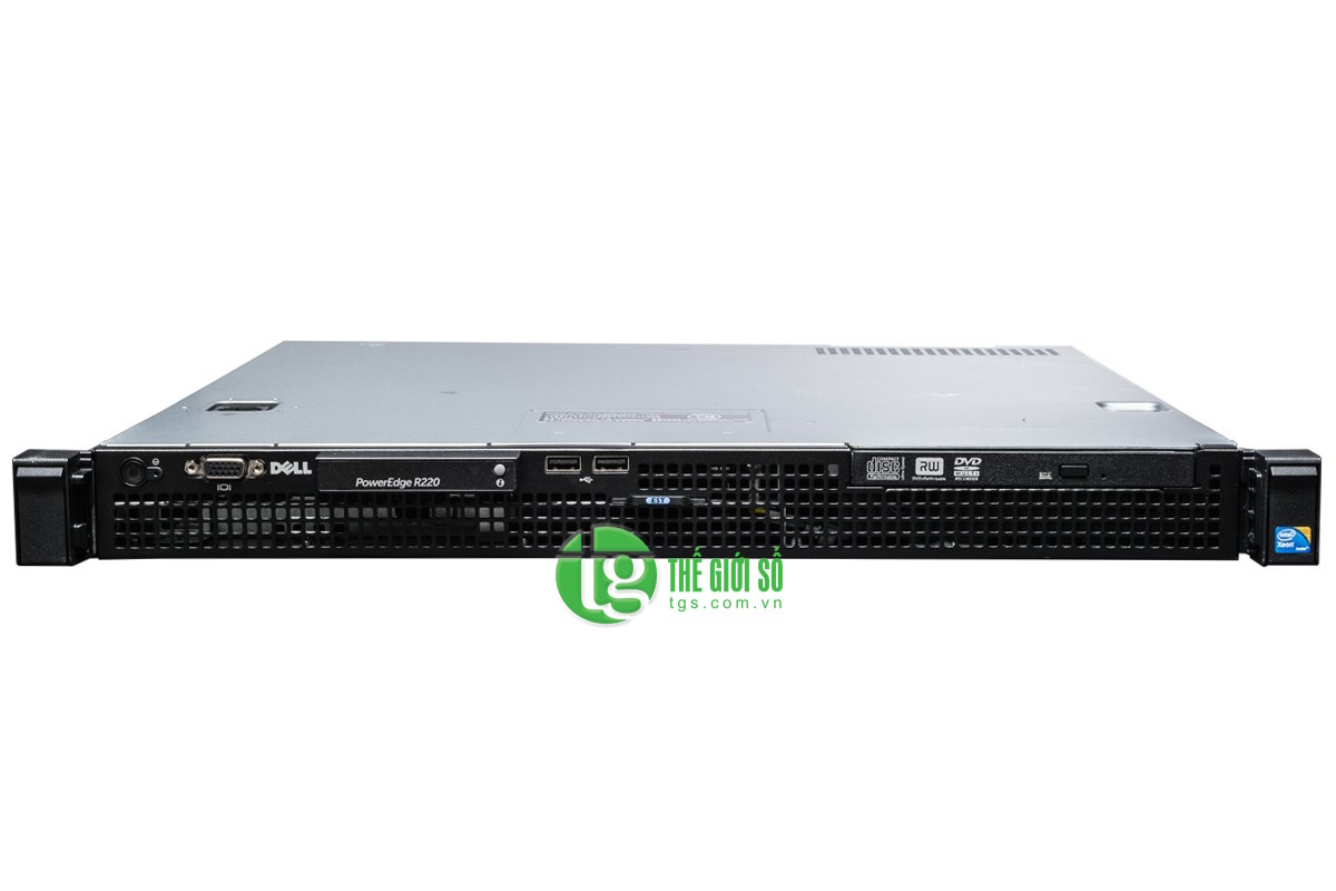 MÁY CHỦ DELL POWEREDGE R220 E3-1220V3 3.1GHZ