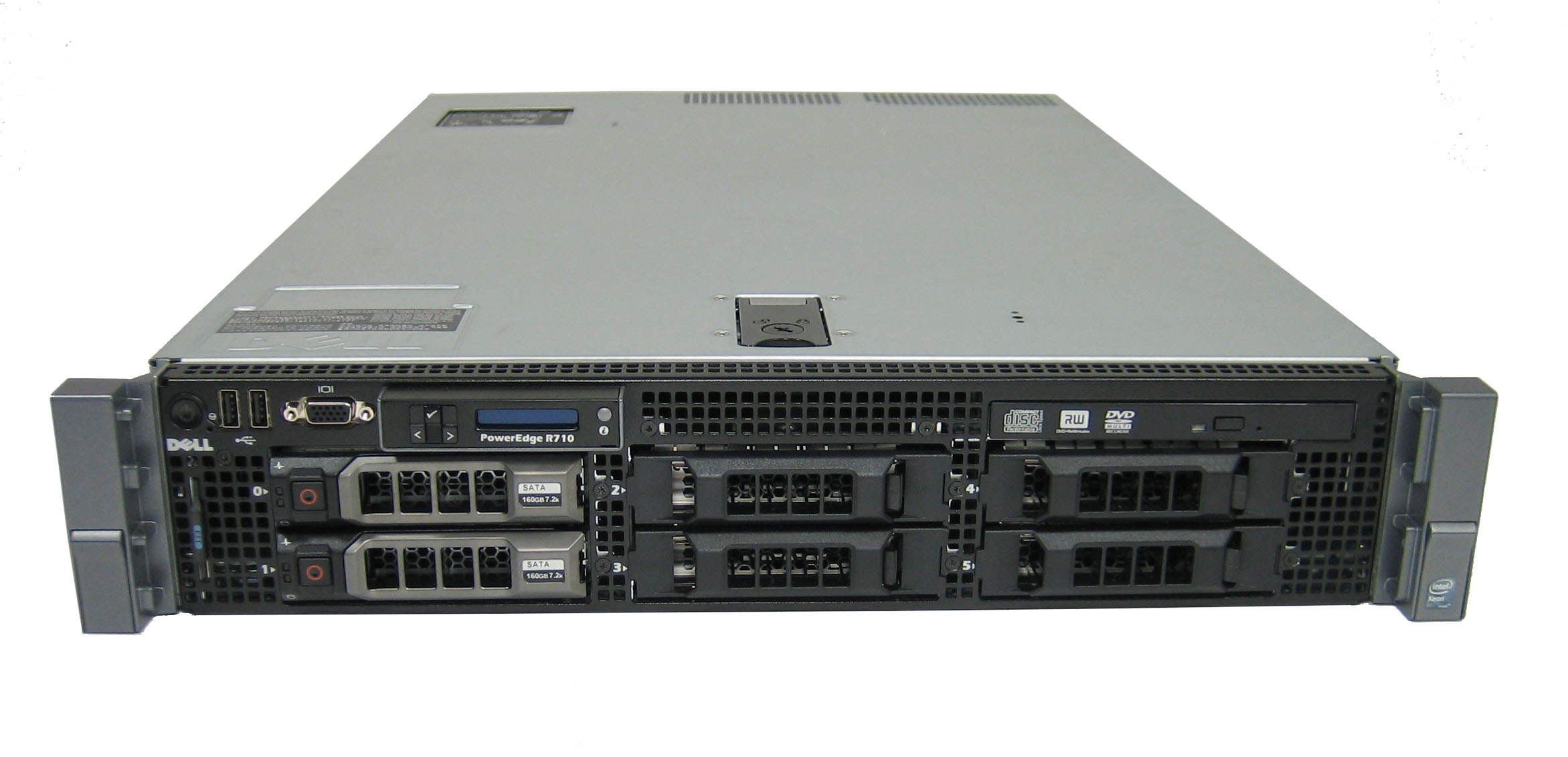 MÁY CHỦ SERVER DELL POWEREDGE R710 - CPU 2x L5520