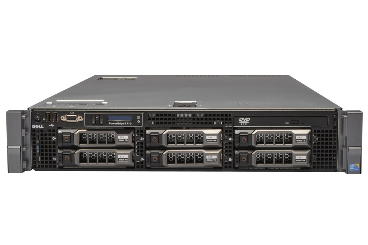 MÁY CHỦ SERVER DELL POWEREDGE R710 E5645 HDD 3.5