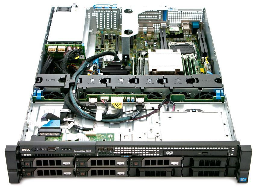 SERVER DELL POWEREDGE R530 E5-2620 V3