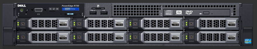 MÁY CHỦ SERVER DELL POWEREDGE R730XD E5-2620 v4 2.1GHz