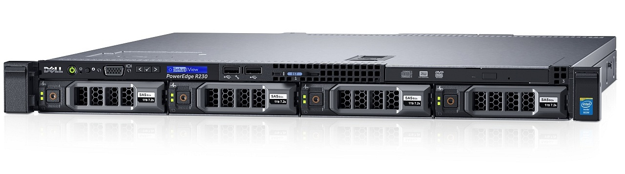 MÁY CHỦ SERVER DELL PowerEdge R230 E3-1220 v5 3.0GHz