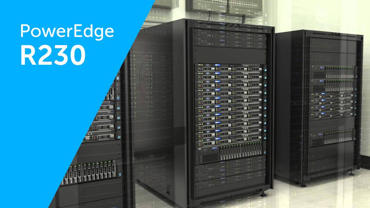 MÁY CHỦ SERVER DELL POWEREDGE R230 E3-1230 v5 3.4GHz